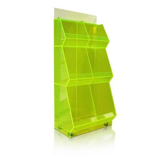 商品綠色亞加力膠展示架