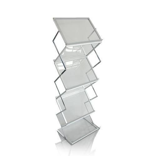 可收縮鋁配亞加力膠片貨架