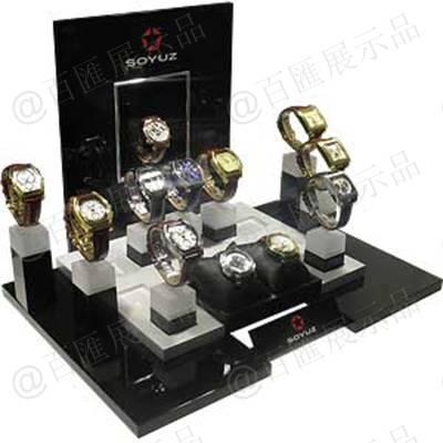 桌面櫃枱手錶專賣亞加力展示架