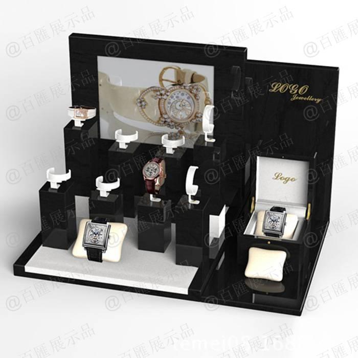 櫃枱手錶亞加力展示架