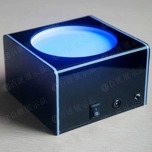 附帶開關式發光展示座-藍光