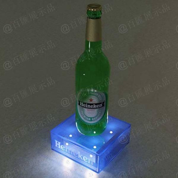 方形發光亞加力膠盒