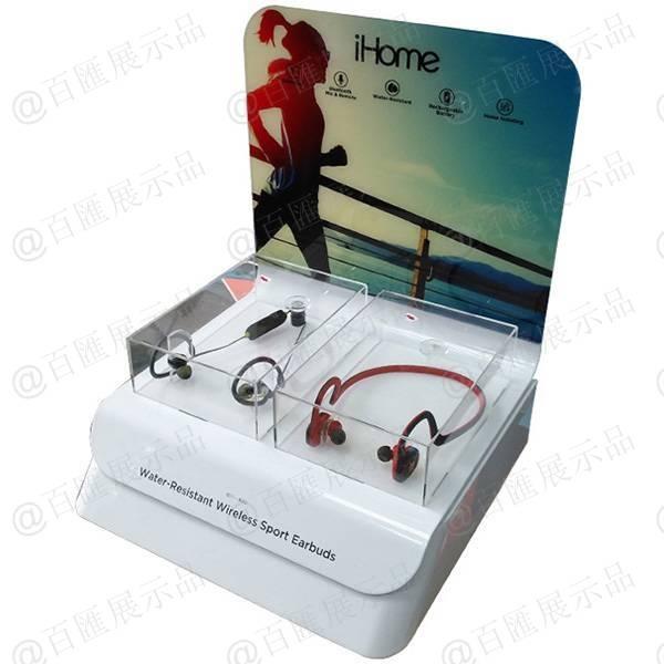 iHome 無線藍牙耳機亞加力膠座