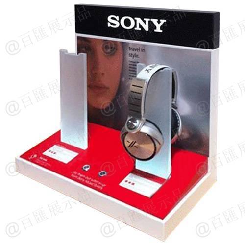索尼品牌耳機演示亞加力展示架