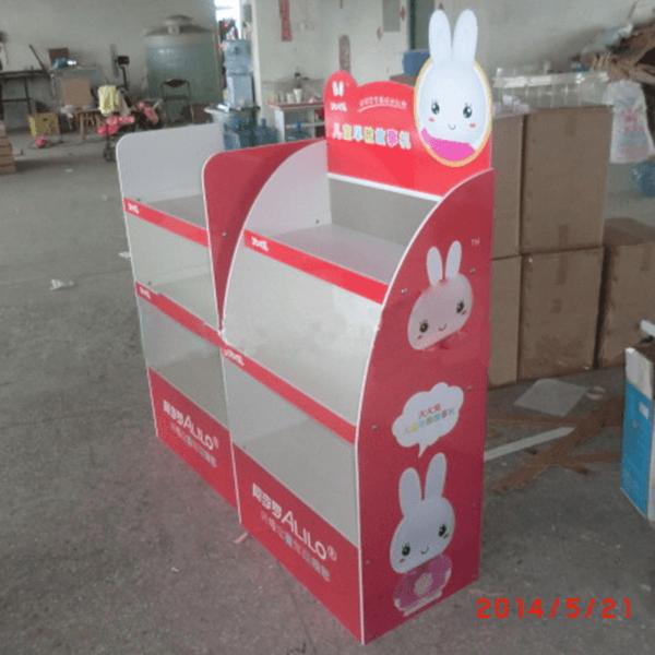 兔子玩具大型陳列架-右側