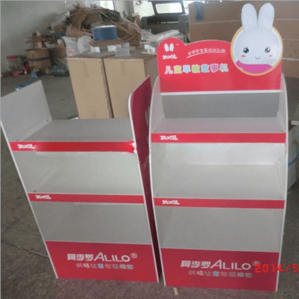 兔子玩具大型陳列架-正面