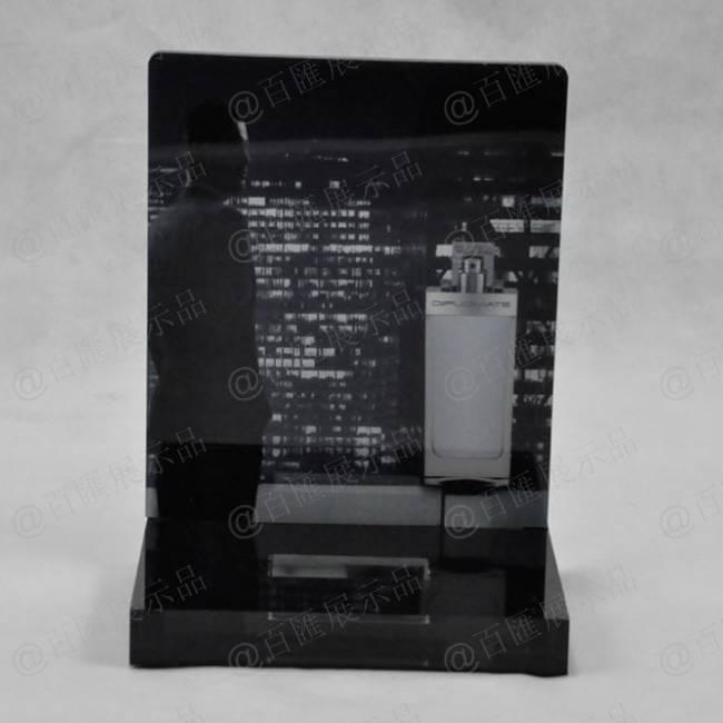 香水試用裝展示亞加力陳列座-正面