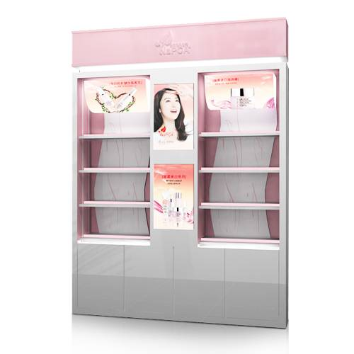 賣場化妝品MDF大型展示櫃
