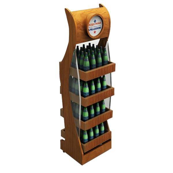 酒類分層陳列木架
