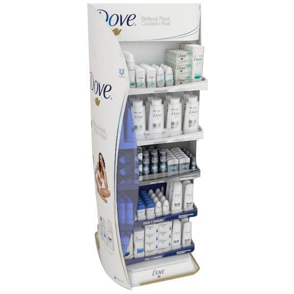 多芬洗頭水大型陳列木櫃