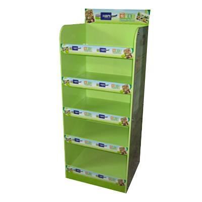 噴綠漆光面陳列木櫃