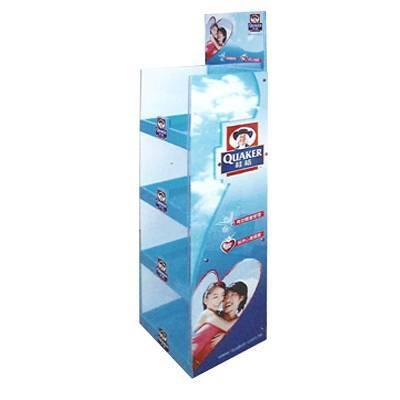 四層裱高清數碼貼紙陳列木櫃
