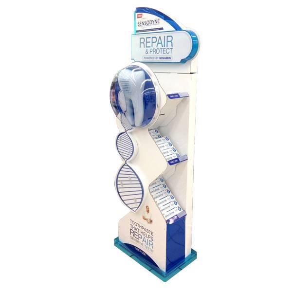 新造型牙膏展示木架