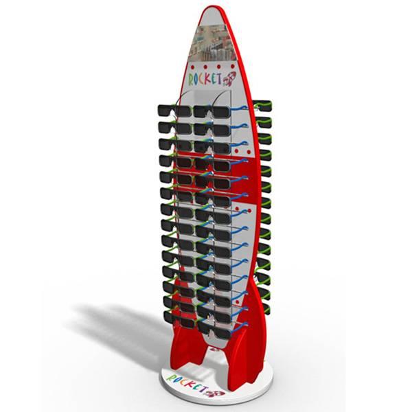 雙面眼鏡展示陳列木架