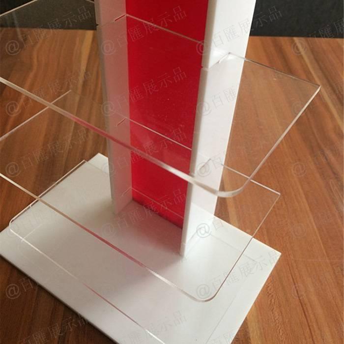 可分拆式眼鏡亞加力膠陳列架-透明板