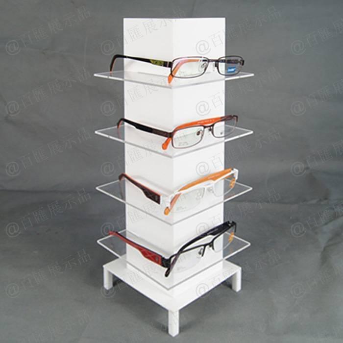 四面展示方柱形眼鏡展示架