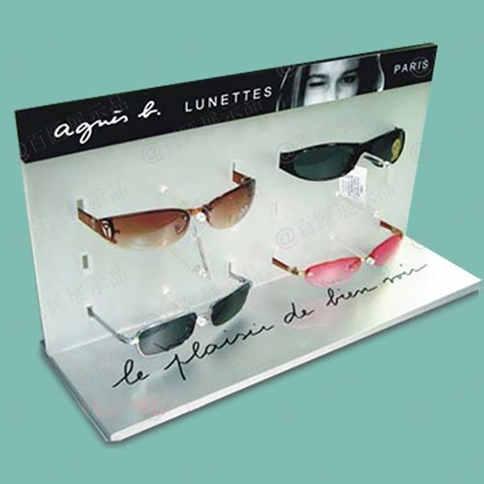 眼鏡專賣店L型亞加力展示架