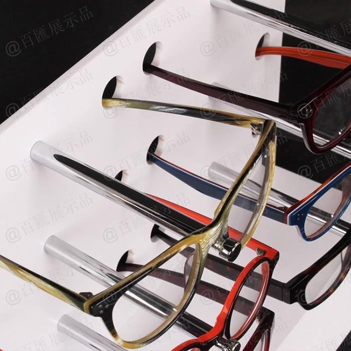 多副近視眼鏡展示陳列亞加力膠架-細節圖