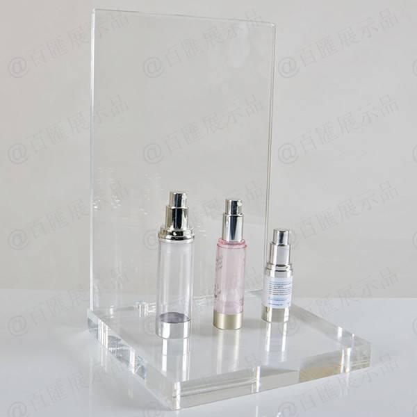 背板可攝紙透明亞加力膠架-無攝紙