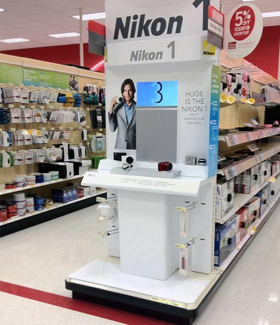 尼康數碼體驗展示木櫃