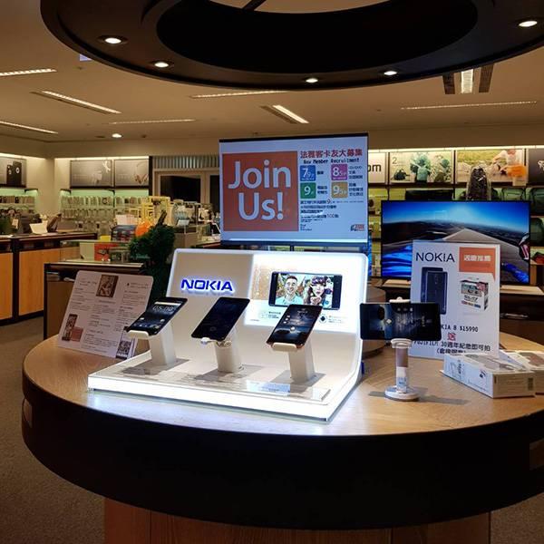 諾基亞 Nokia手機店鋪陳列展示膠座