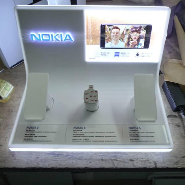 諾基亞 Nokia手機展示發光膠座