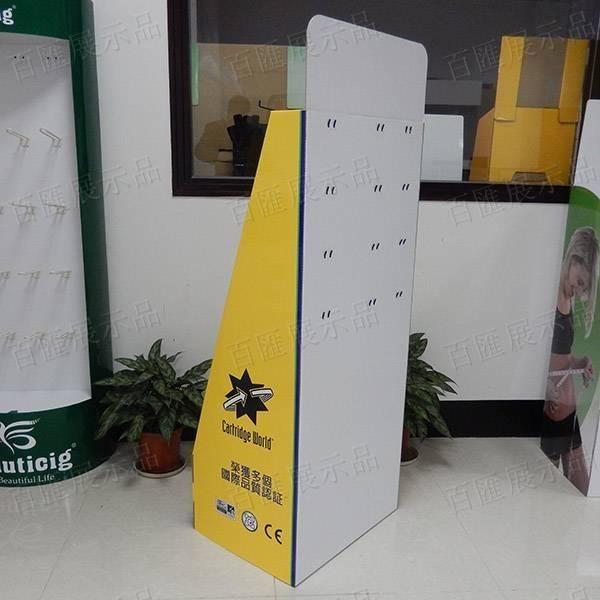 文具用品金屬掛鉤紙品展示架-背面