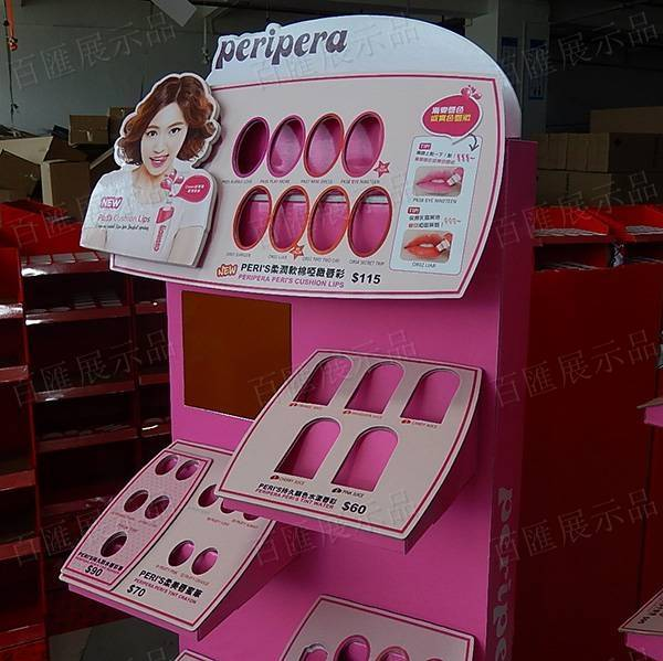 PeriPera 唇膏筆紙展示架-頭咭