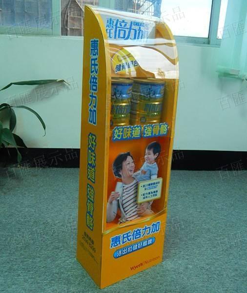 惠氏奶粉展示架-藥房款-左側