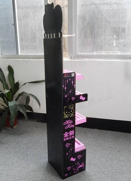 Hello Kitty化妝品展示架-莎莎款-背後