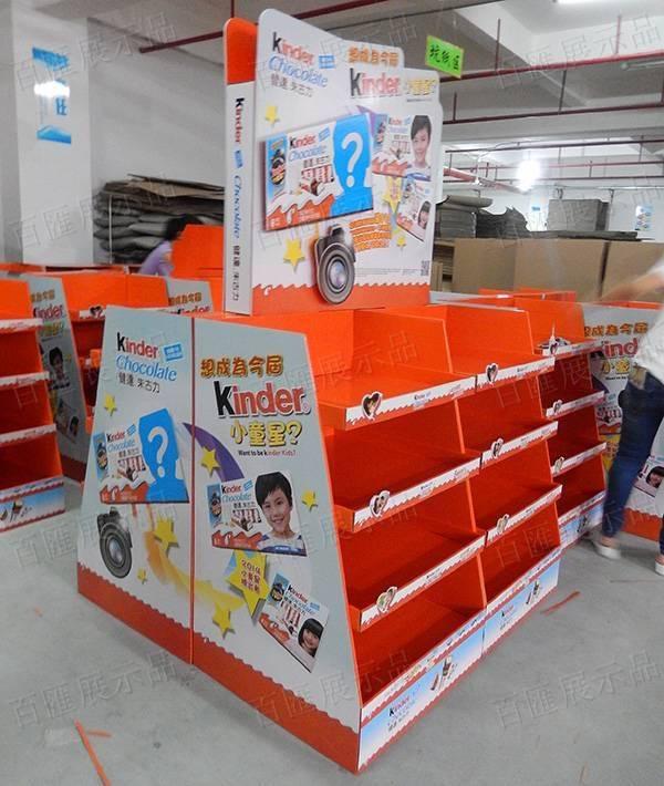 健達小童星主題四合一堆頭架-左側