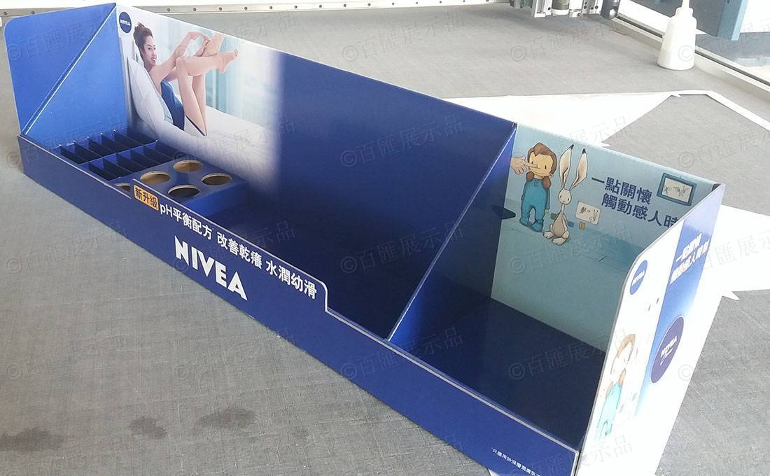 Nivea 妮維雅 POSM 紙製展示架