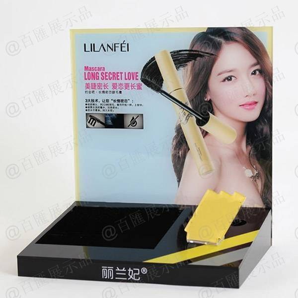 麗蘭妃睫毛膏L型展示膠座-成品