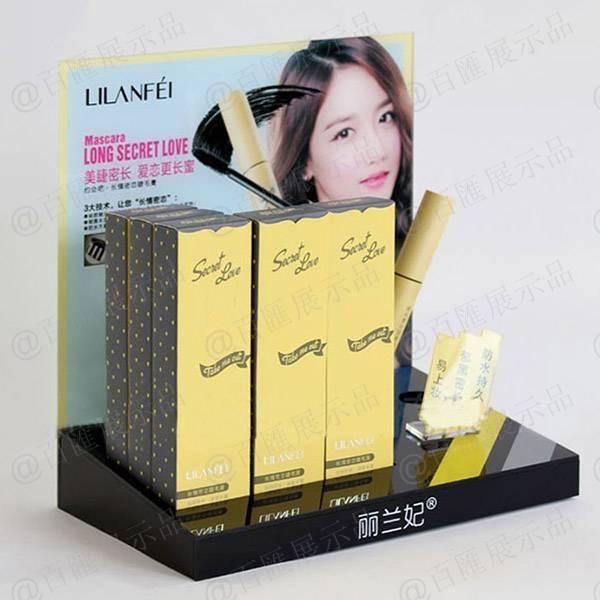 麗蘭妃睫毛膏L型展示膠座-左側
