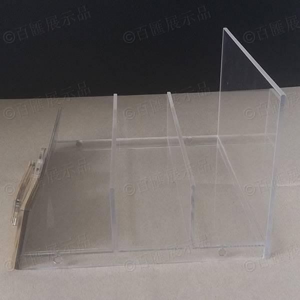 金泊面膜產品展示架-側面
