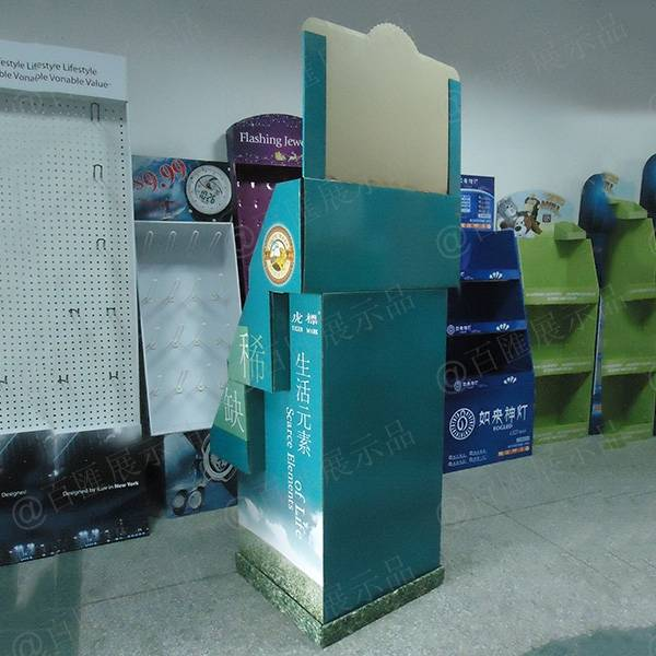 虎標茶葉紙展示架-背后