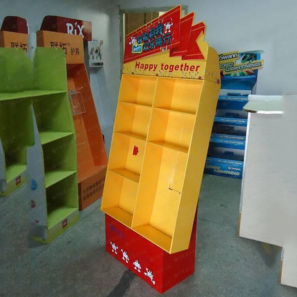 禮品贈品紙展示架-右側