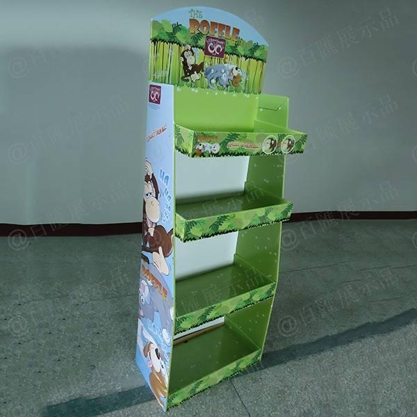 roffle toys玩具紙展示架-左側