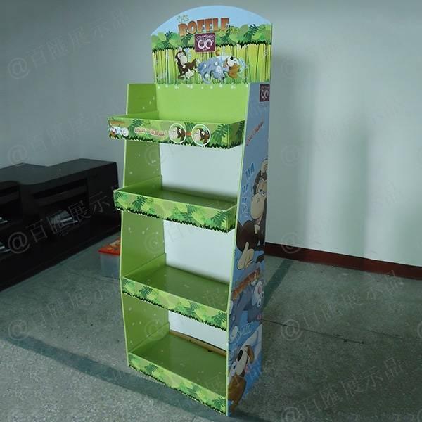 roffle toys玩具紙展示架-右側