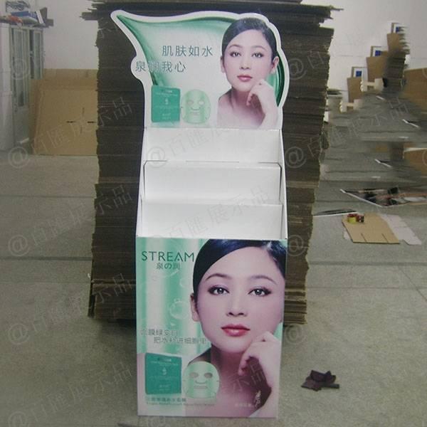 泉之潤面膜紙品展示架-正面