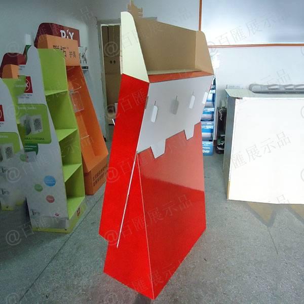 中國郵政賀卡紙展示架-背面