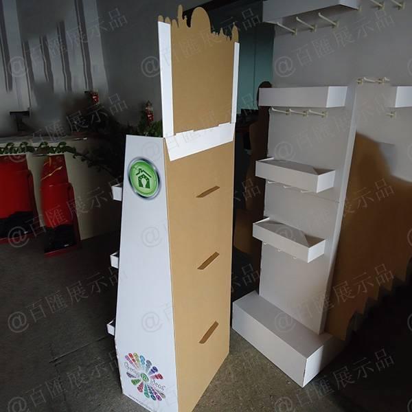 工藝品紙製陳列架-背面