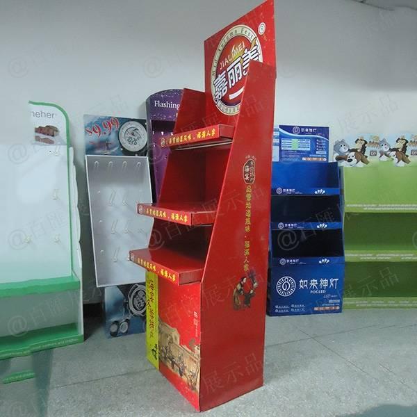 特產食品POP商品陳列架-右側