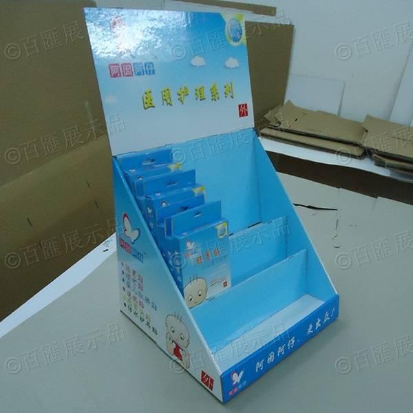醫用護理用品紙展示盒-左側