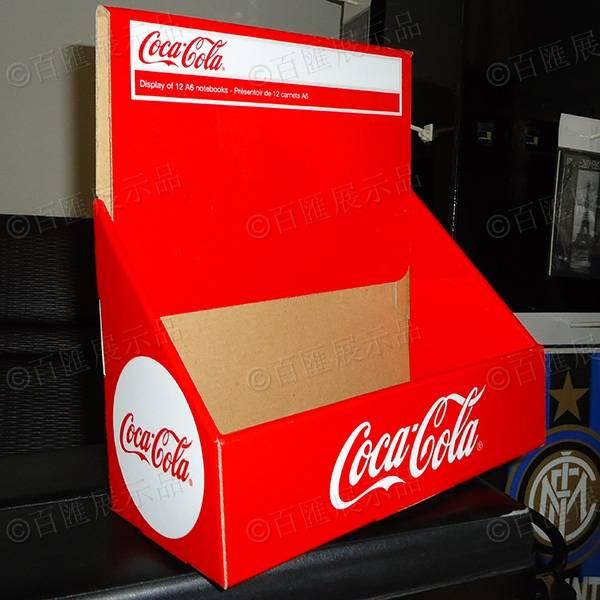 可口可樂包裝PDQ紙展示盒-成品