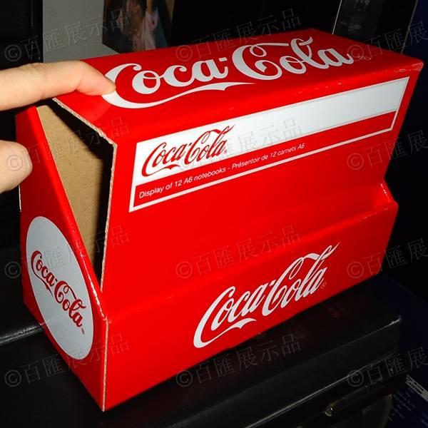 可口可樂包裝PDQ紙展示盒-折疊成品