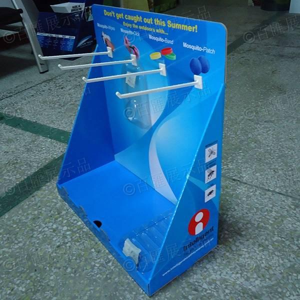 掛鉤式PDQ紙展示盒-右側