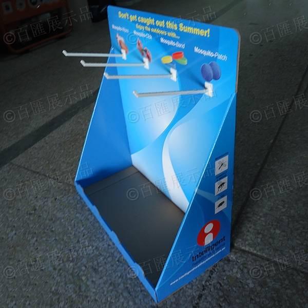 掛鉤式PDQ紙展示盒-半成品
