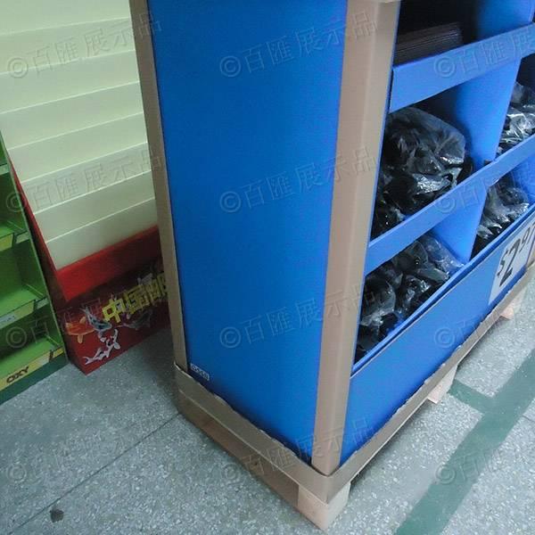 Walmart 沃爾瑪廚具產品紙陳列架-左側