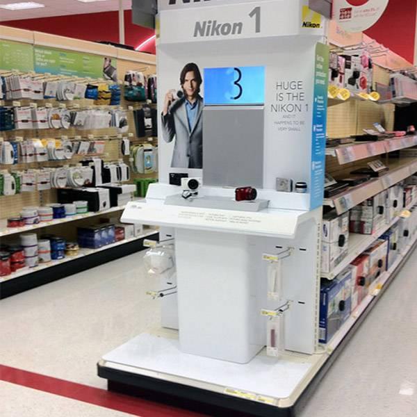 Nikon 尼康電子數碼功能演示陳列木櫃